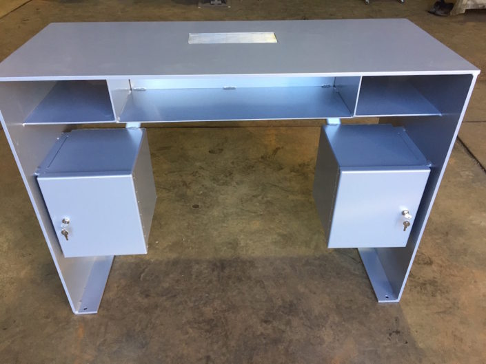 Aluminum drivers welding for Unique manicure tables